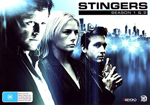 Stinger Disc - Stingers Season 1 & 2 | Collector's Set | 12 Discs | NON-USA Format | PAL | Region 4 Import - Australia