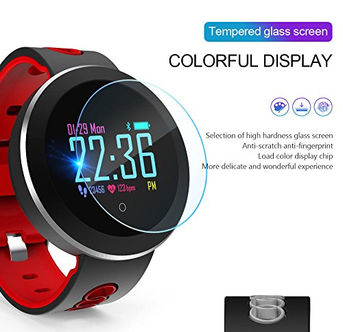 Amazon.com: Q8 Pro Smartband Heart rate Smart Band IP68 waterproof support Blood pressure oxygen Monitoring Weather push Fitness Bracelet band: Cell Phones ...