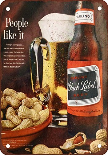 1963-carling-black-label-beer-vintage-look-reproduction-metal-signs-12x16-inches