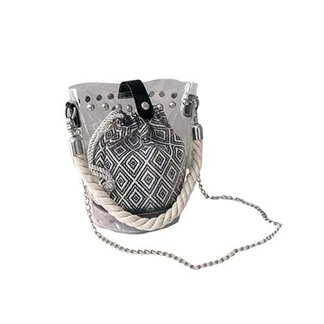 Duhe189014 Bolsas De Cubo Transparentes Bolsas De Asas De ...