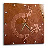 Cheap 3dRose Pictographs of The Pueblo Indians, Native American – Us32 Awy0010 – Angel Wynn – Wall Clock, 15 by 15″ (dpp_92520_3)
