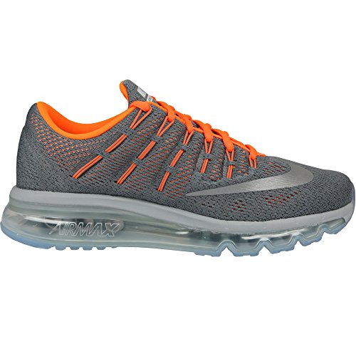 uk availability 45252 33251 Galleon - Nike Air Max 2016 (GS) 807236-008 Clear GreySilverOrange Kids  Running Shoes (6.5)