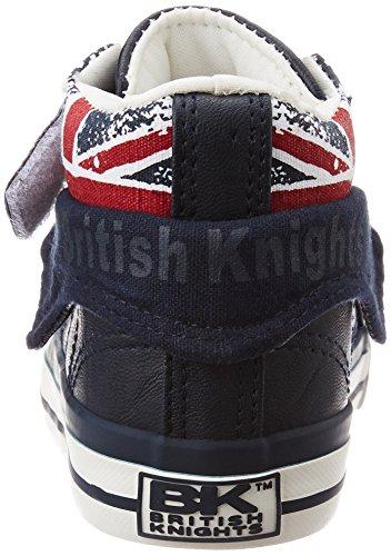 British Knights Roco - Primeros Pasos de Material Sintético Bebé-Niños Bleu (navy/union Jack)