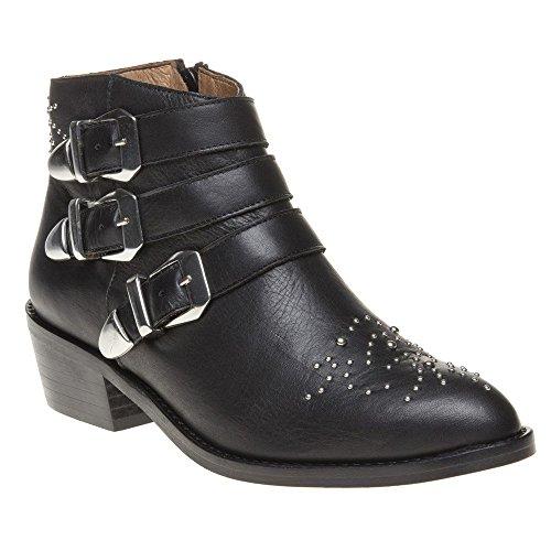 Sole Averil Femme Boots Noir Noir