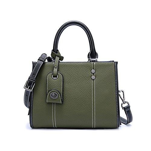 Green à bandoulière Sac à Messenger Business Sac Sac Mode Ladies Bag PU main z678nqBw