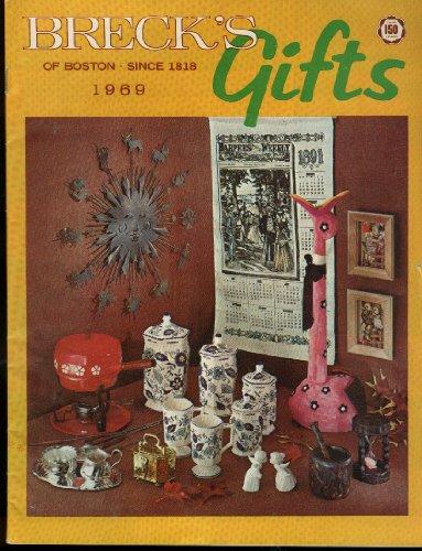 Breck's of Boston Gift Catalog 1969 novelties girdles,