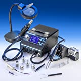 ''X-TRONIC'' Model #9020-XTS Hot Air Rework & Soldering Iron Station
