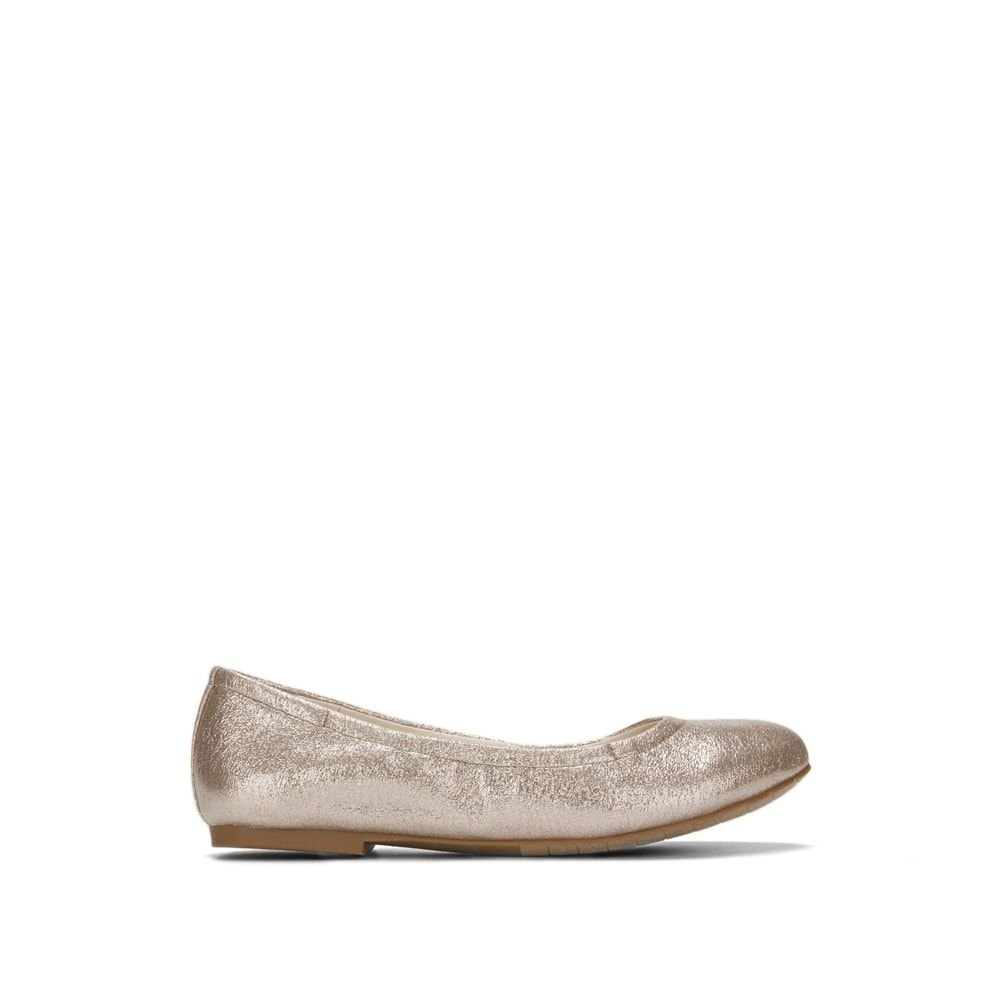 Reaction Kenneth Cole Pinelopi Glitz Ballet Flat - Women's B07CWY5HZY 7 B(M) US|Rose Gold