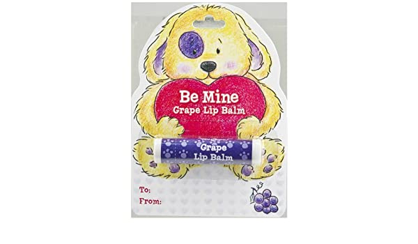 Chapstick Puppy Dog Valentine Card   Ganz Be Mine Grape Lip Balm  Time & Again 2 Pack - Noxzema Ultimate Clear Pads Anti Blemish 90 ct