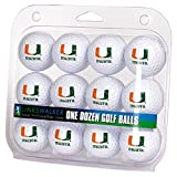 LinksWalker NCAA Miami Hurricanes - Dozen Golf Balls