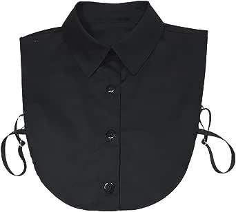 kayhan Collar Detachable Dickey Collar Blouse Half Shirts False Collar Peter Pan Faux False Collar for Women Favors