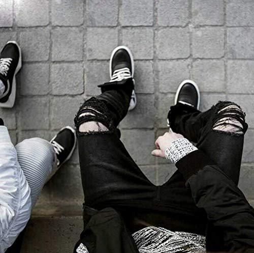 Con Maschile 11 Rt Straight Ragazzo Denim Strappati Nn Bikini grau Twill Moda Jeans Stili 690 Chiusura 0q4dw4g