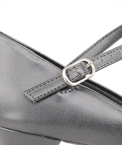 semelle talon noir gratuit de chaussure Tango cuir pin Só Latine Salon cm 8 couleur Rumba caractère CH50 Danse 3 en Salsa noir Dança avec wacAgP