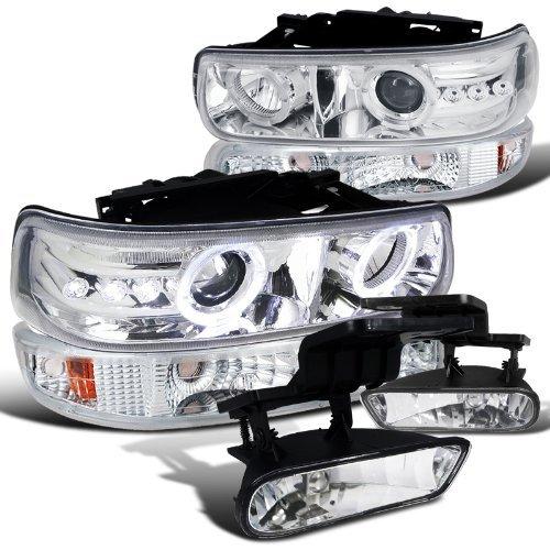 02 tahoe chrome headlights - 5