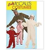 McCall's Patterns M5956 Misses'/Men's/Children's/Boys'/Girls' Animal Costumes, Size ADT (SML-MED-LRG-XLG)