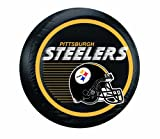 Fremont Die NFL Pittsburgh Steelers Large Tire Cover, Black