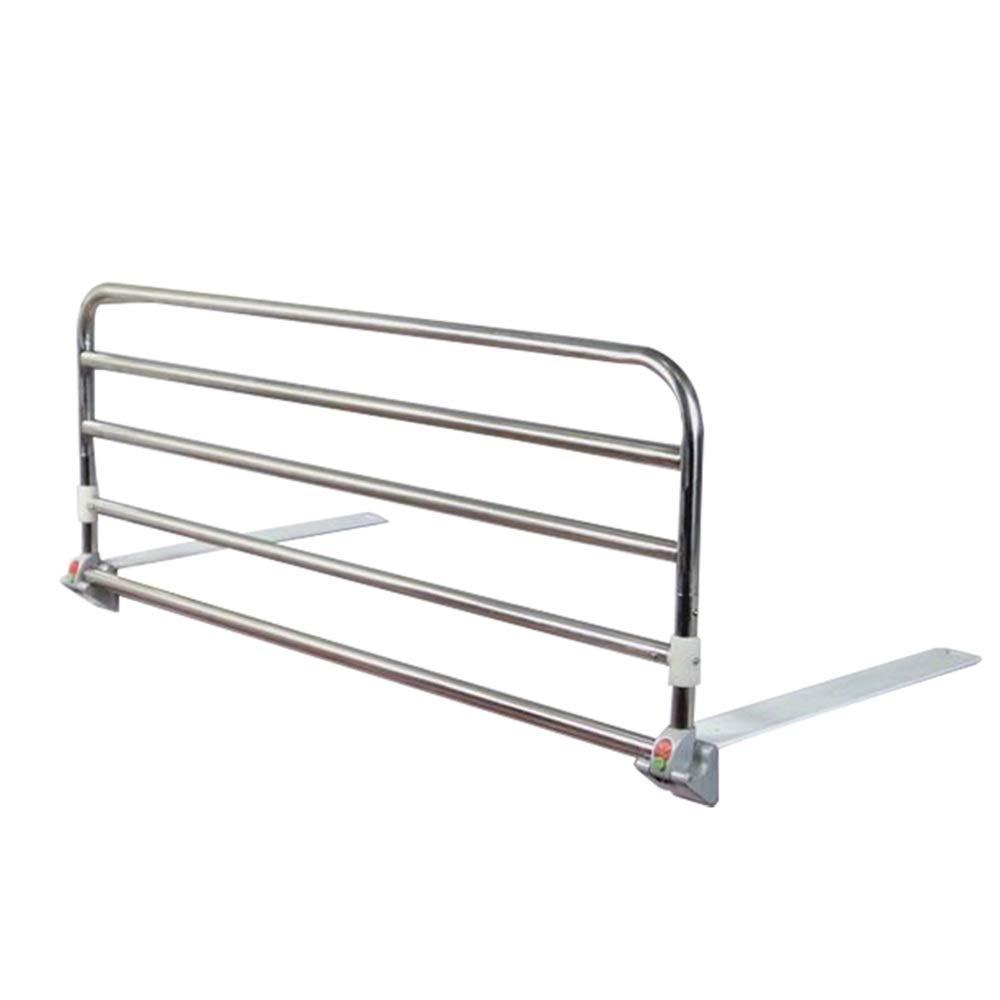 HUO ベッドフェンス 便利な収納ポケットの高さで調整可能なループ安全ベッドレール移動補助ストラップ付き移動補助移動補助 (サイズ さいず : 90センチメートル) 90センチメートル  B07RZCCPZH