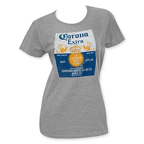 Corona Extra Womens Grey T Shirt