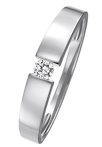 CHRIST Diamonds Diamant-Ring Damen-Ring aus 585er Gelb-, Rosé- oder Weißgold mit einem Brillanten ca...