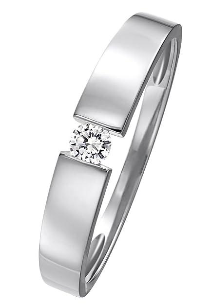 Christ Diamonds Damen Ring 585er Gelbgold Ca 0 08 Karat Weissgold