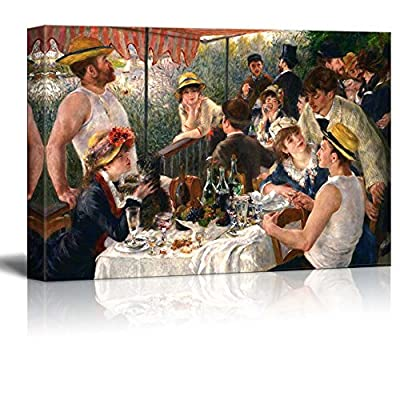 Luncheon of The Boating Party by Renoir Wall...