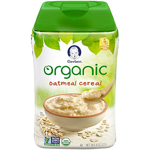 Gerber Organic Single-Grain Oatmeal Baby Cereal Review