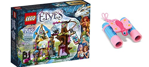 [LEGO Elves Elvendale School of Dragons 230 Pcs & free Gifts Sunny Patch Bixie Butterfly Binoculars (Colors may vary)] (Baby State Trooper Costume)