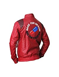 The Sparks Up Inc. Akira Kaneda Embroidered Capsule Biker Faux Leather Jacket