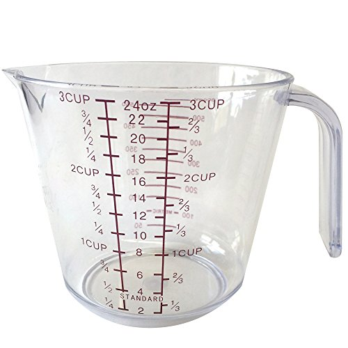 (Better Houseware Measuring Cup, 24 oz, Clear)