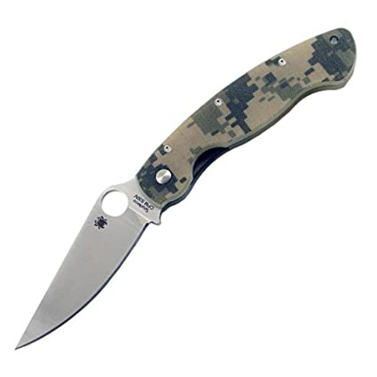 Spyderco SC36GPCMO Cuchillo tascabile,Unisex - Adulto, Negro ...