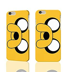 """Adventure Time Jake and Finn 3D Rough iphone Plus 6 -5.5 inches Case Skin, fashion design image custom iPhone 6 Plus - 5.5 inches , durable iphone 6 hard 3D case cover for iphone 6 (5.5""""), Case New Design By Codystore"""