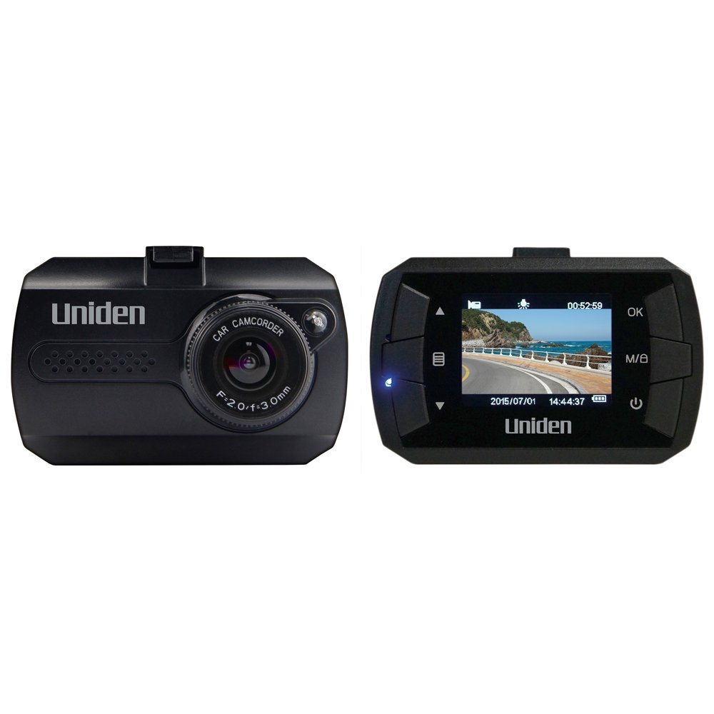 2.4 LCD 1080p Full HD Dash Cam Lane Departure Warning 8GB Micro SD Card Included 2.4 LCD G-Sensor with Collision Detection Loop Recording 148-degree Wide Angle Lens Uniden DC4