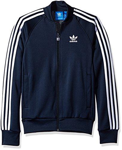 Adidas Embroidered Pullover (adidas Originals Men's Outerwear | Superstar Track Jacket, Legend Ink, Small)
