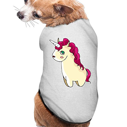 Zytuilowe Little Lamb Dog Clothes Cute Dog Shirts Puppy T Shirt For Pet Puppy,Soft Breathable Vest For Dog,Samll Medium Large -