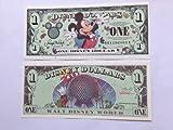 Disney Dollars 2000 Mickey $1 Bill (Disneyland)