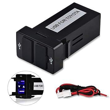 Amazon.com: VIGORWORK - Cargador de coche USB dual de 12 V ...