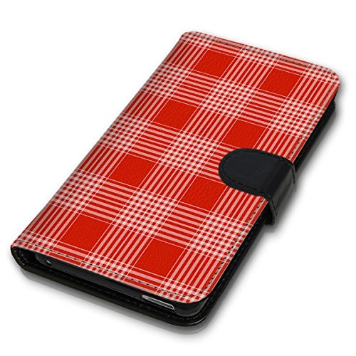 Wallet Book Style Flip Handy Tasche Case Schutz Hülle Schale Motiv Etui für Apple iPhone 5 / 5S - Design Flip MV280