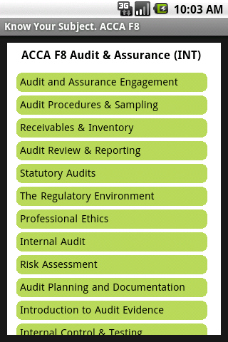 acca f8 audit Acca f8 audit and assurance has 5 ratings and 1 review bpp learning media's status as official acca approved learning provider - content means our acca.