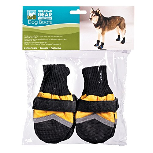 UPC 721343253990, Guardian Gear Oxford Boots for Dogs, XS, Yellow