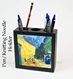 Doctor Who Desk Accessory, Pen Holder pencil box cup Van Gogh Cafe Terrace At Night