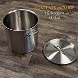 GasOne SP-32 Stainless Steel Brew Kettle Pot 8