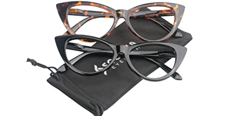 5318ad94b0 Image Unavailable. Image not available for. Colour  SOOLALA SOOLALA Ladies  61mm Lens Designer Cat Eye Reading Glasses ...