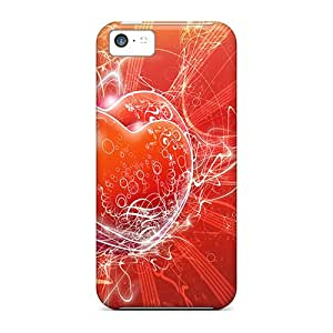 ALk6586RbMv Case Cover Electric Duo Iphone 5c Protective Case