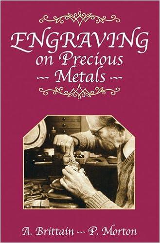 Book Engraving on Precious Metals