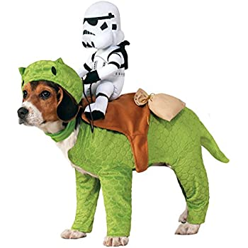 Rubieu0027s Star Wars Dewback Stormtrooper Dog Pet Costumes One Size  sc 1 st  Amazon.com : stormtrooper dog costume  - Germanpascual.Com
