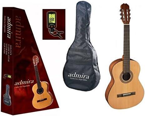 Admira (Alba) Iniciacion 3/4 (PACK) Guitarra clásica española ...