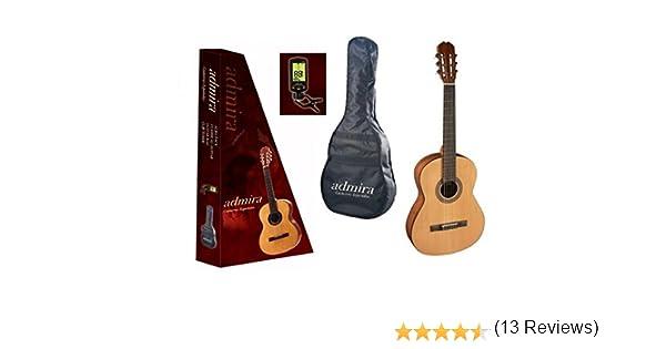 Admira (Alba) Iniciacion 3/4 (PACK) Guitarra clásica española: Amazon.es: Instrumentos musicales