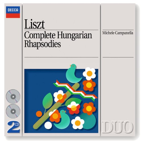 Liszt: Complete Hungarian Rhapsodies (2 CDs) (Philips Philips Cd)