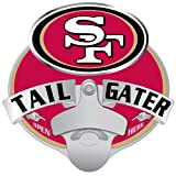 tow hitch cover sf - NFL San Francisco 49ers Tailgater Hitch Cover, Class III