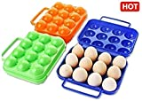 GKP Products  ABS Quality Eggs Holder, Color-Assorted ,Qty-(1pc) Model 352367